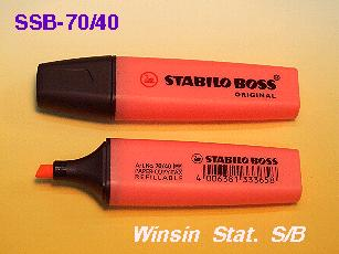 SCHWAN STABILO BOSS HIGHLIGHTER 70/40 RED