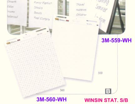 3M POST IT EASEL PAD 560