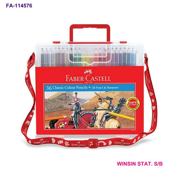 FABER-CASTELL CLASSIC COLOUR PENCIL 36 in WONDER BOX