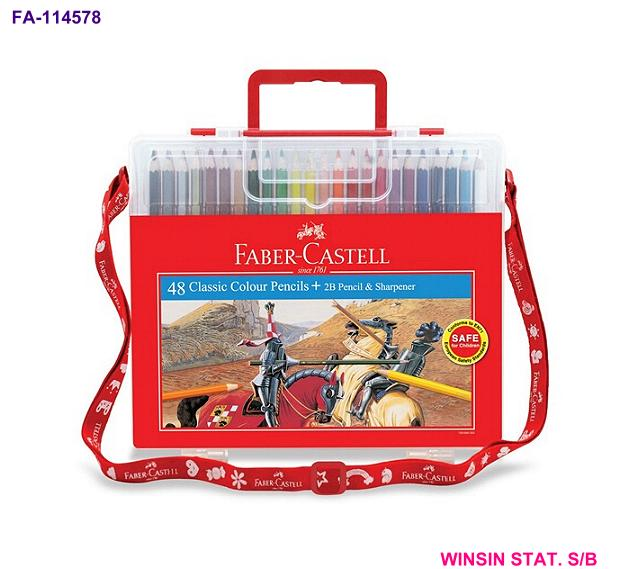 FABER-CASTELL CLASSIC COLOUR PENCIL 48 in WONDER BOX