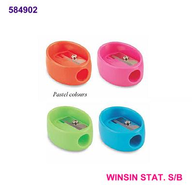 FABER-CASTELL SHARPENER PASTEL SINGLE HOLE