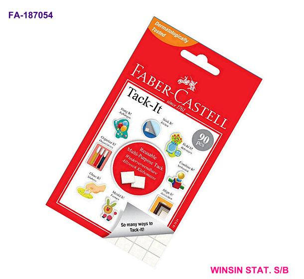 FABER-CASTELL TACK-IT 50g REMOVABLE ADHESIVE