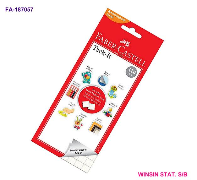 FABER-CASTELL TACK-IT 75g REMOVABLE ADHESIVE