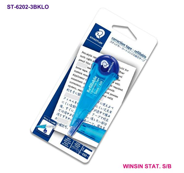 STAEDTLER CORRECTION TAPE 5mm X 6m Refillable BLUE