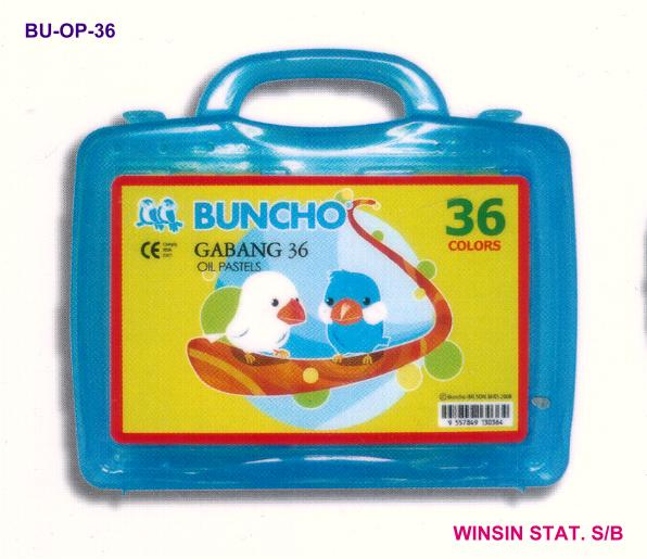 BUNCHO OIL PASTEL GABANG 36 COLOUR FG-G36
