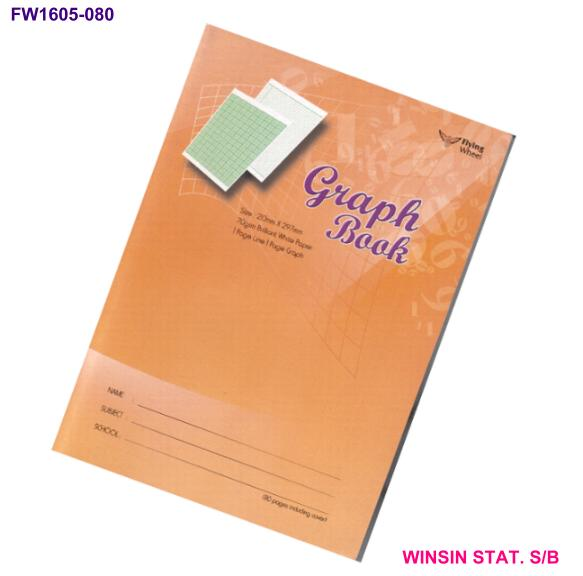 FLYING WHEEL GRAPH BOOK SOFT COVER BOOK A4 80pg