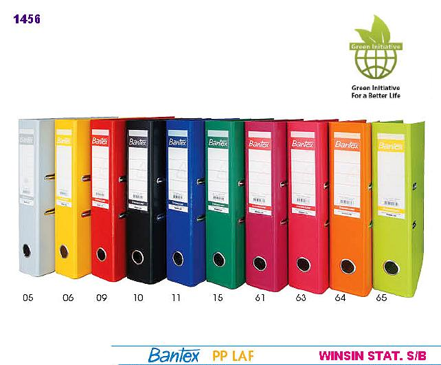 BANTEX PP LEVER ARCH FILE F4 3 INCH WITHOUT INDEX