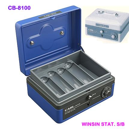 CARL CASH BOX CB-8100