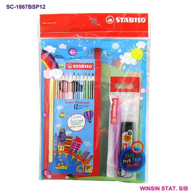 STABILO SPECIAL PACK SET A	1867B+FOC 3555SP3 <50>