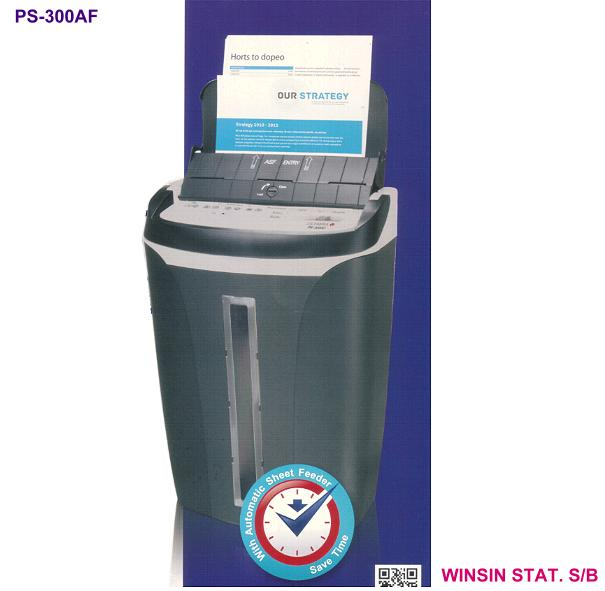 OLYMPIA AUTOFEED PAPER SHREDDER 50shts CROSS CUT/CD/CREDIT CARD