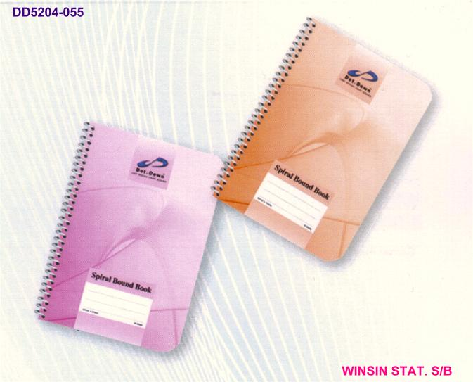 DOT.DOWN SPIRAL NOTE BOOK A6 (148 X 105)mm 50 sheets <5-400>