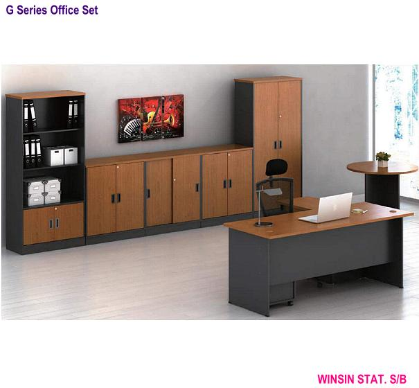G SERIES PIGEON HOLE LOW CABINET