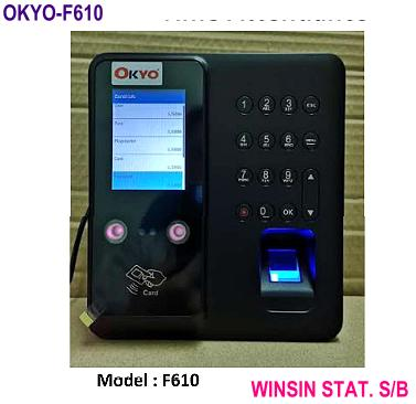 OKYO FACE SCAN/ FINGER + DOOR ACCESS TIME & ATTENDANCE MACHINE (TIME RECORDER)